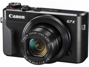 キャノンPowerShot G7 X Mark II