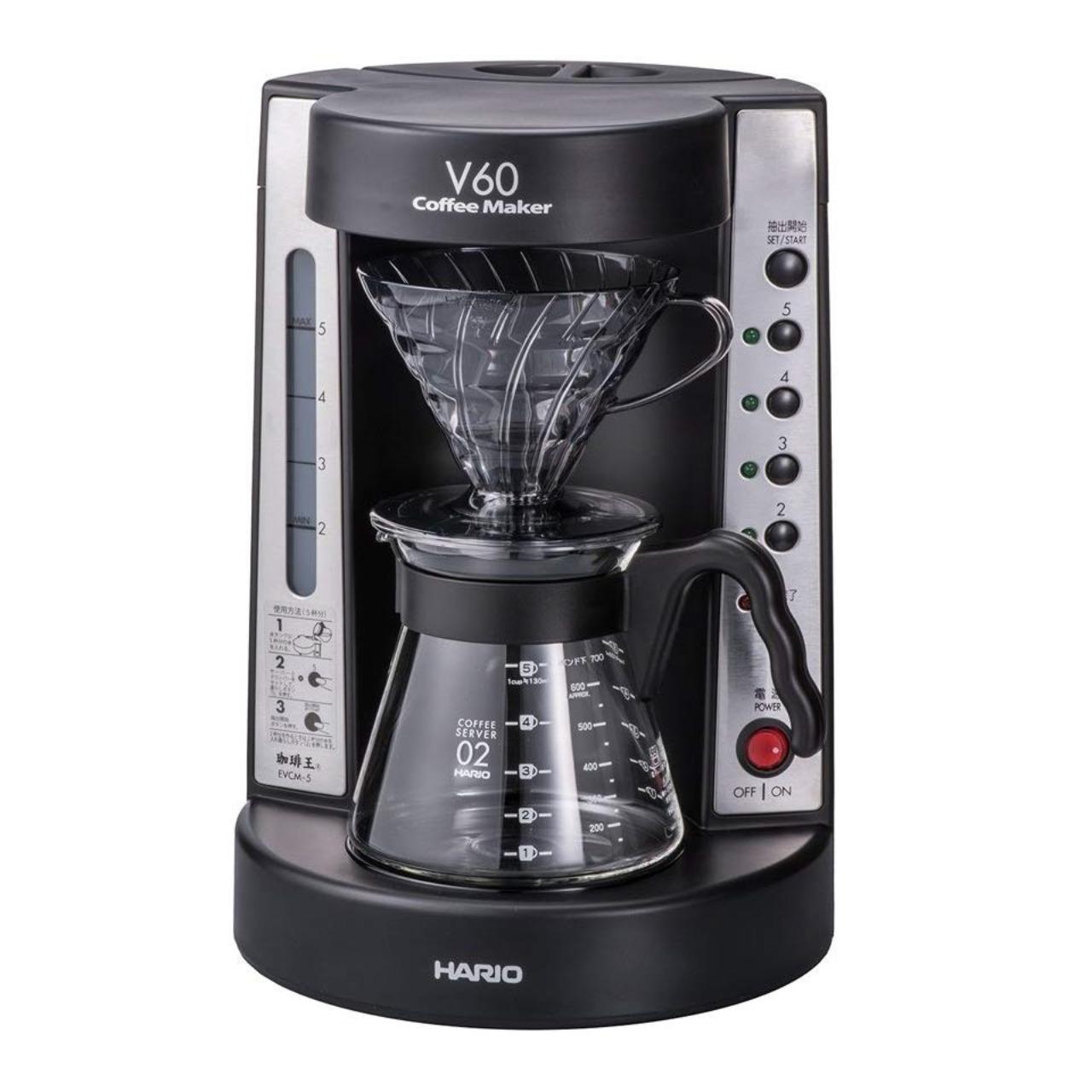 ハリオV60珈琲王EVCM-5TBコーヒーメーカー