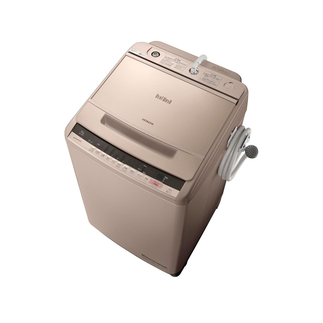 日立ビートウォッシュBW-V100C全自動洗濯機