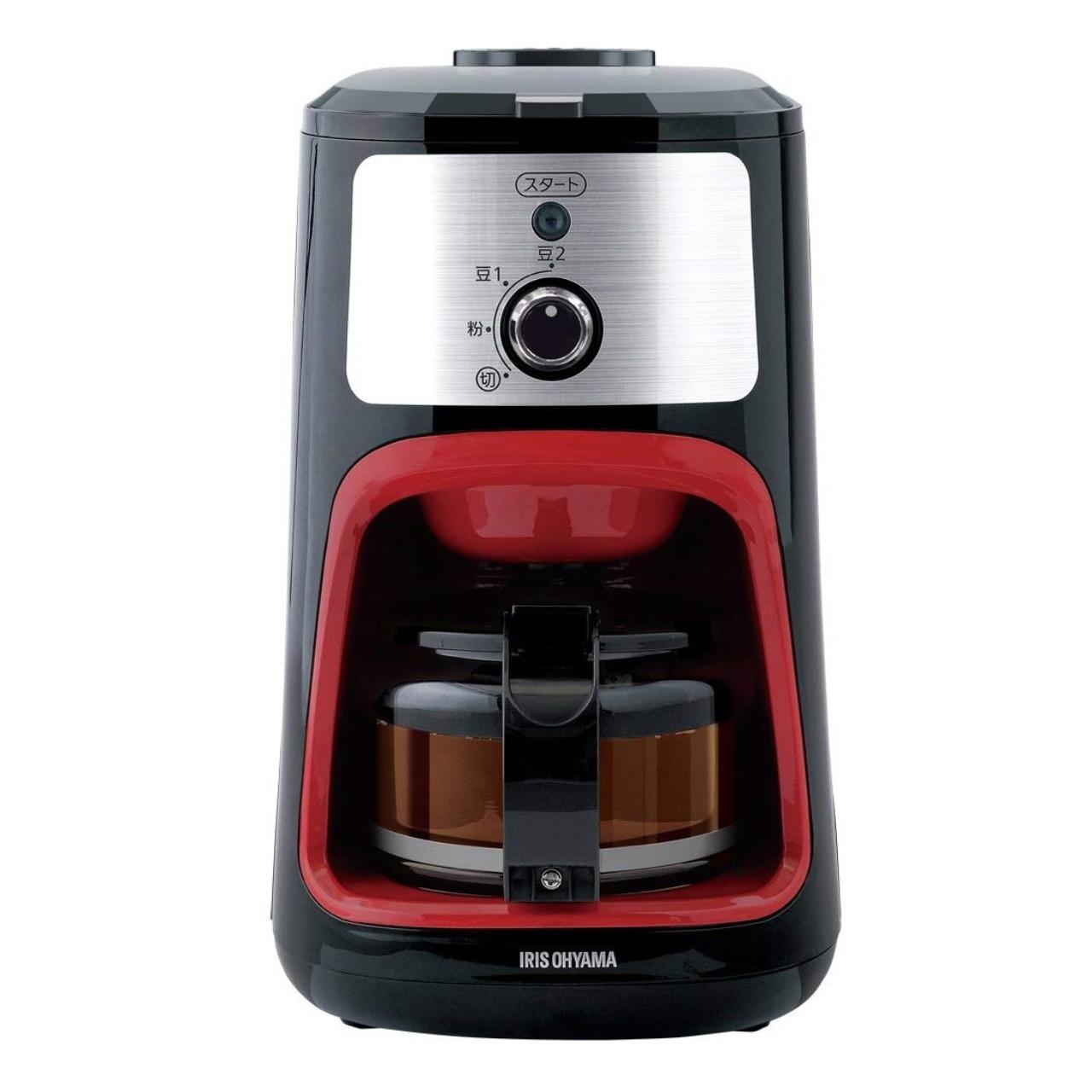 アイリスオーヤマIAC-A600全自動コーヒーメーカー