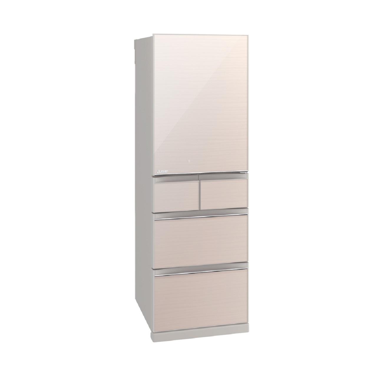 三菱 置けるスマート大容量 BシリーズMR-B46F 5ドア冷蔵庫