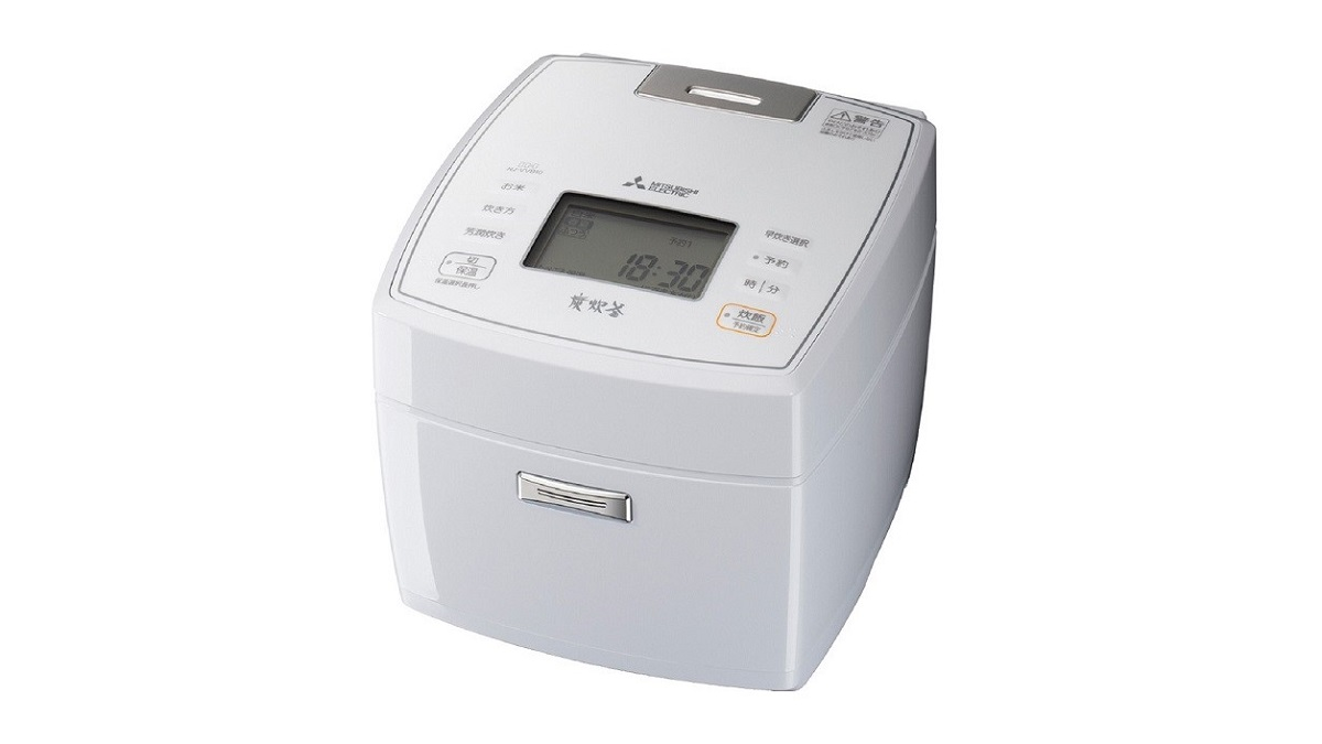 三菱 備長炭 炭炊釜NJ-VVB10 IHジャー炊飯器