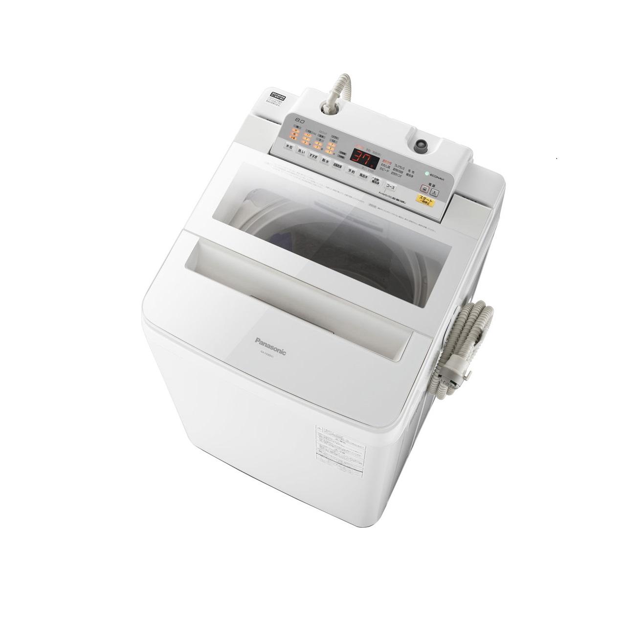 パナソニックNA-FA80H5全自動洗濯機