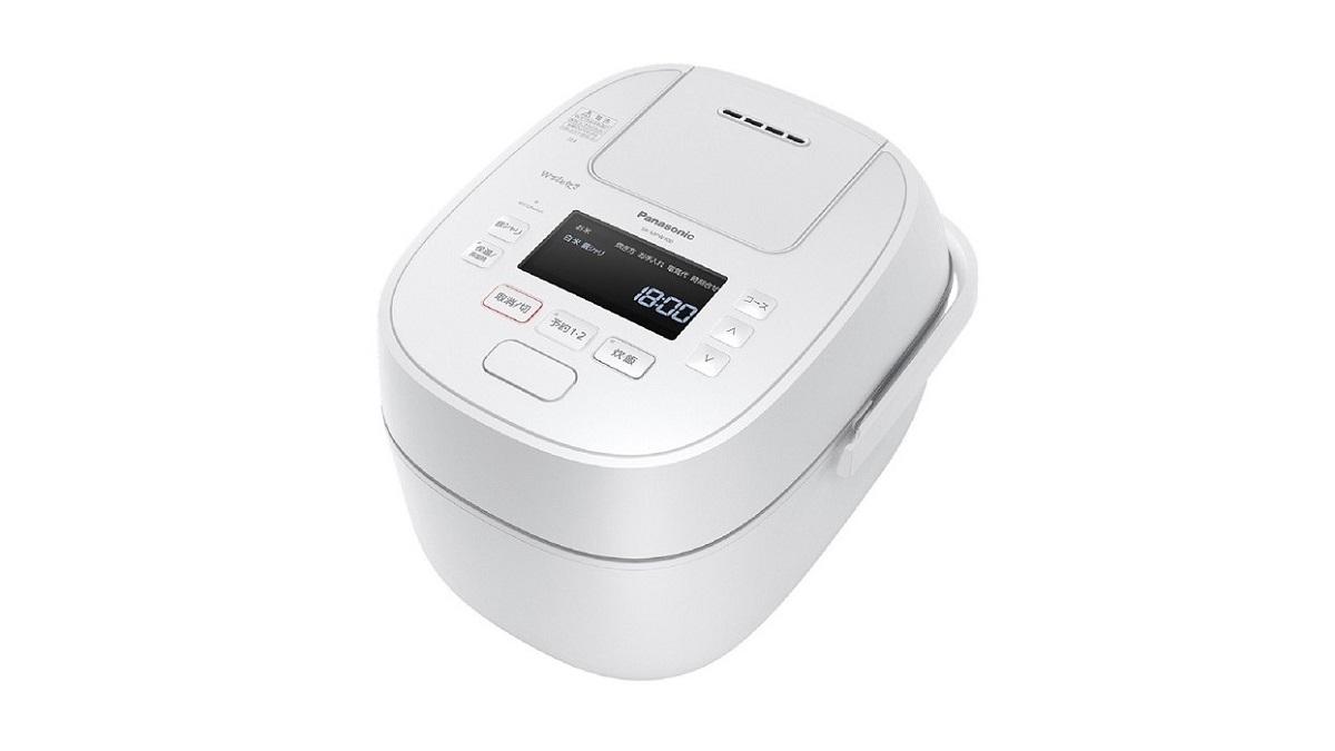 パナソニックWおどり炊きSR-MPW100可変圧力IHジャー炊飯器