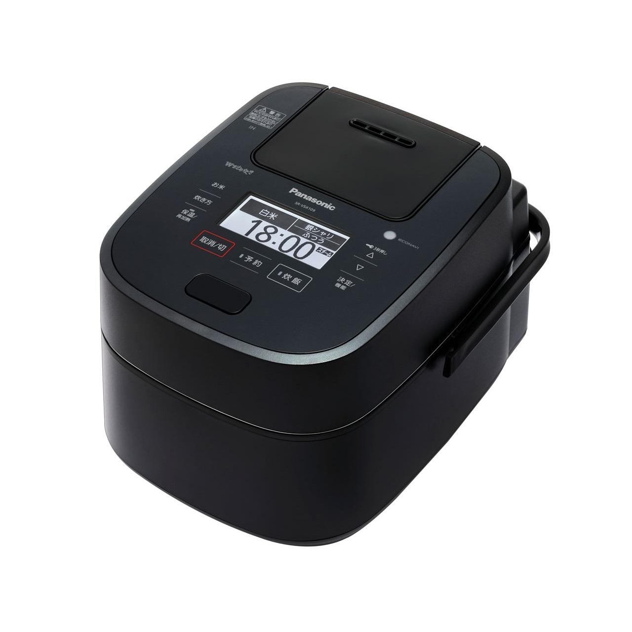 パナソニックWおどり炊きSR-VSX109スチーム&可変圧力IHジャー炊飯器