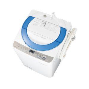 シャープES-GE70R全自動洗濯機