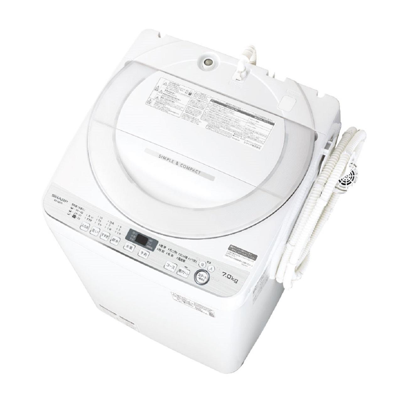 シャープES-GE7D全自動洗濯機