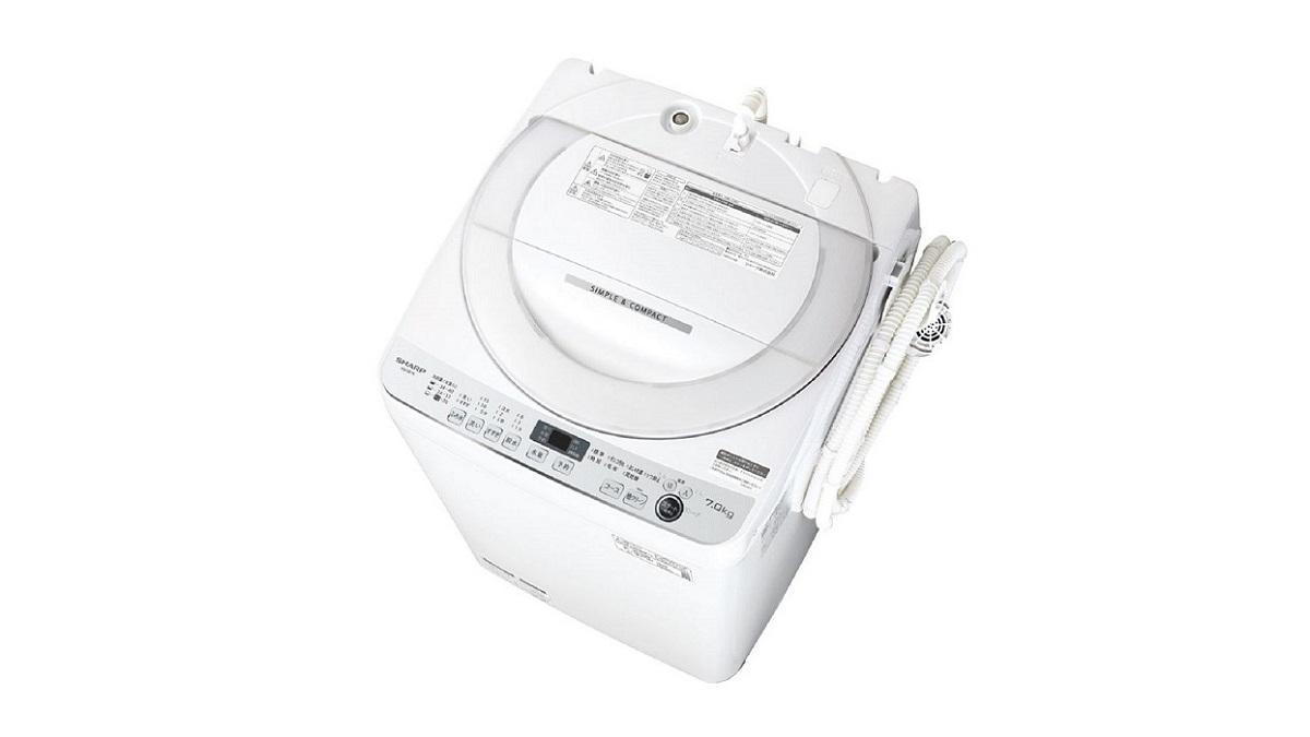 シャープES-GE7E全自動洗濯機