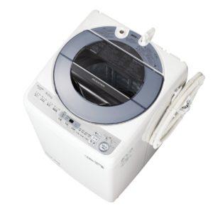 シャープES-GV8D全自動洗濯機