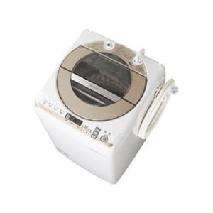 シャープES-GV90P全自動洗濯機