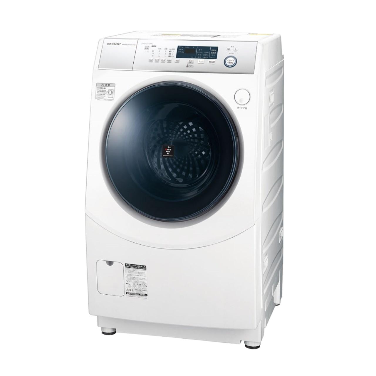 シャープES-H10Dドラム式洗濯乾燥機
