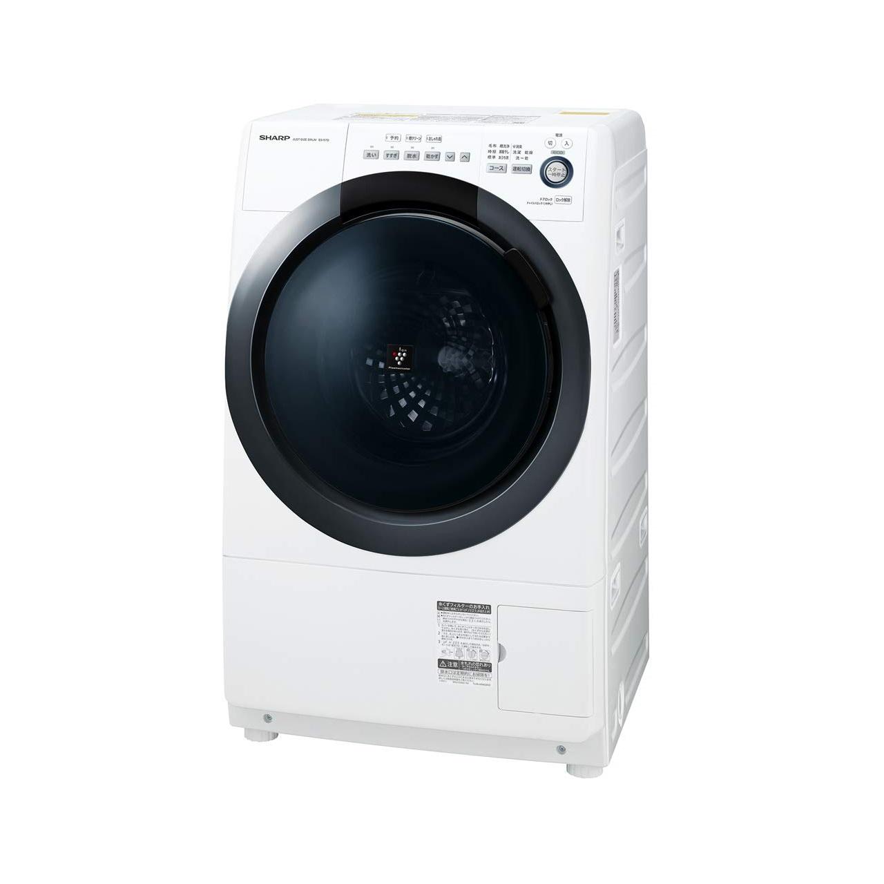 シャープES-S7Dドラム式洗濯乾燥機