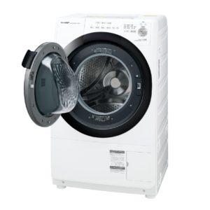 シャープES-S7Eドラム式洗濯乾燥機
