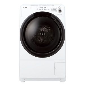 シャープES-S7Fドラム式洗濯乾燥機