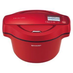シャープ ヘルシオ ホットクックKN-HW16F水なし自動調理鍋