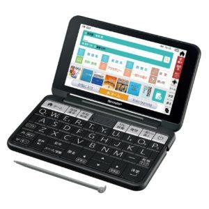 シャープBrain PW-SH7電子辞書 高校生モデル ブラック
