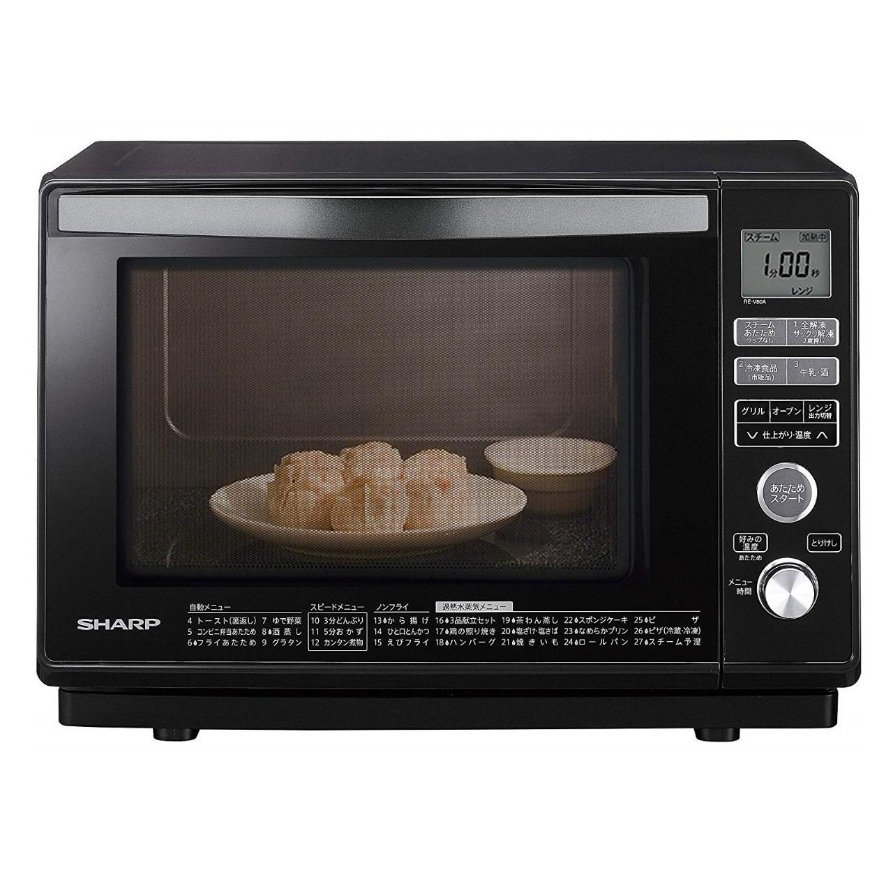 シャープRE-V80A過熱水蒸気オーブンレンジ