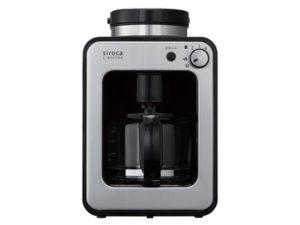 シロカ 全自動コーヒーメーカーcrossline SC-A121