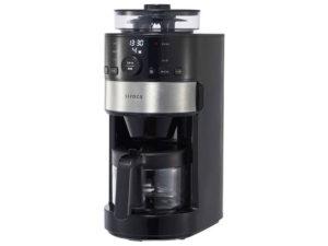 シロカ コーン式全自動コーヒーメーカー SC-C111