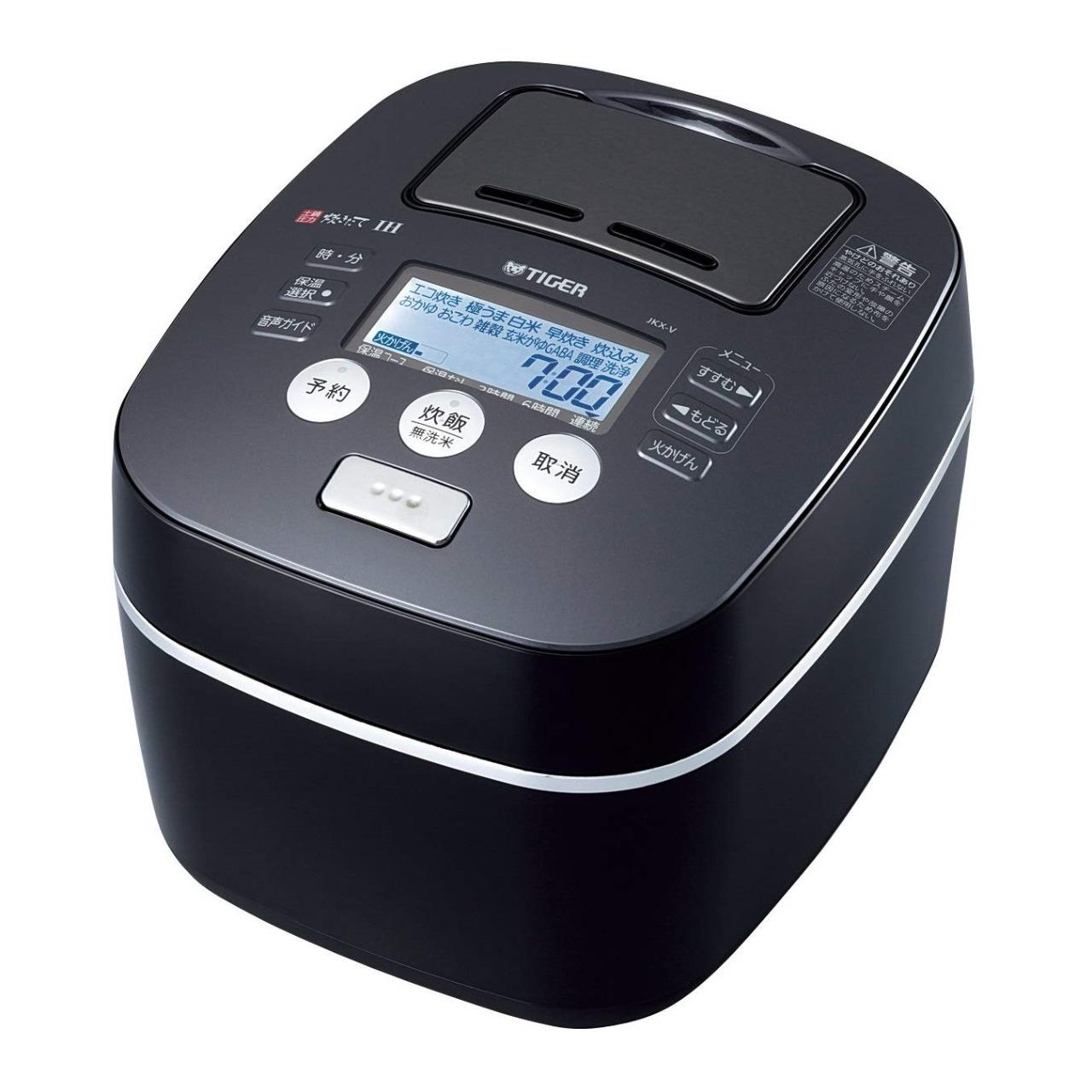 タイガーJKX-V100圧力IH炊飯ジャー