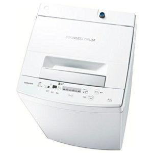 東芝全自動洗濯機AW-45M5