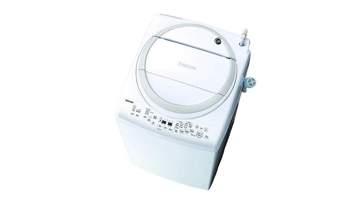 東芝ZABOON AW-8V9タテ型洗濯乾燥機