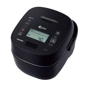 東芝 炎匠炊きRC-10VSR真空圧力IHジャー炊飯器グランブラック
