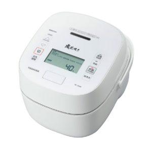 東芝 炎匠炊きRC-10VSR真空圧力IHジャー炊飯器ホワイト