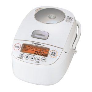 象印 極め炊きNP-BK10圧力IH炊飯ジャー ホワイト